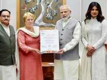 Priyanka Chopra grateful to PM Narendra Modi for attending Partner' Forum