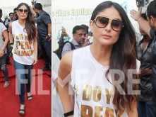 Kareena Kapoor Khan styles her Balmain top in the classiest way ever