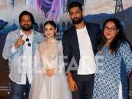 Alia Bhatt, Meghna Gulzar and Vicky Kaushal launch Ae Watan from Raazi