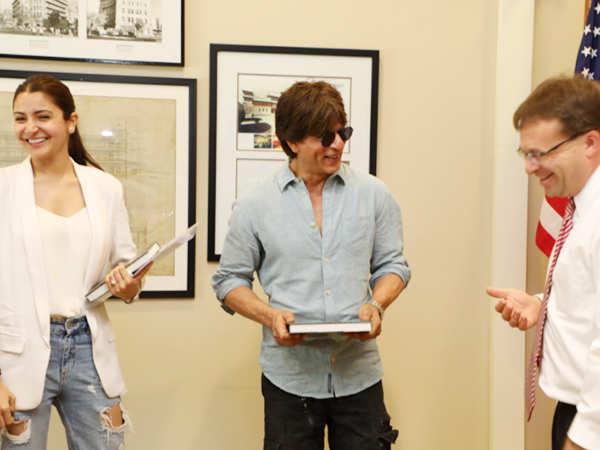 Shah Rukh Khan and Anushka Sharma to shoot the climax of Zero in The U.S.?
