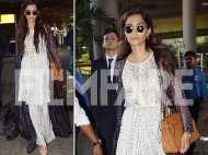 Sonam Kapoor's trendy airport look ticks all the right boxes