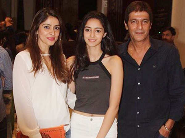 Chunky Panday might sneak in to watch Ananya Panday on The sets of SOTY 2