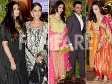 Sonam Kapoor and family attend Saudamini Mattu's wedding reception