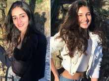 Ananya Panday and Tara Sutaria post pictures from the sets of SOTY 2
