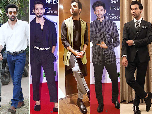 Best dressed men of last week
