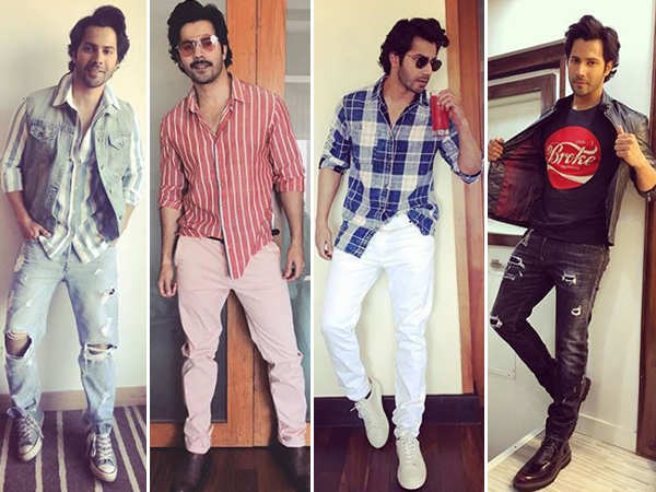 31 times Varun Dhawan proved that he's the prince of comfort clothing