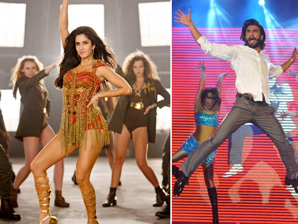 Ranveer Singh and Katrina Kaif set the stage on fire