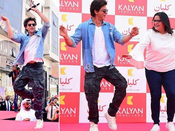 Shah Rukh Khan dancing to Gerua & Chaiyya Chaiyya will leave you excited