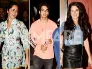 Katrina Kaif, Ishaan Khatter, Isabelle Kaif snapped on a movie outing