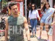 Tiger Shroff and Disha Patani head out for a Sunday brunch