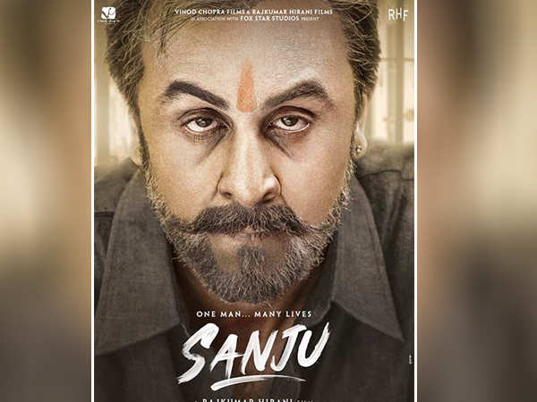 Check it out! New poster of Ranbir Kapoor starrer Sanju drops in