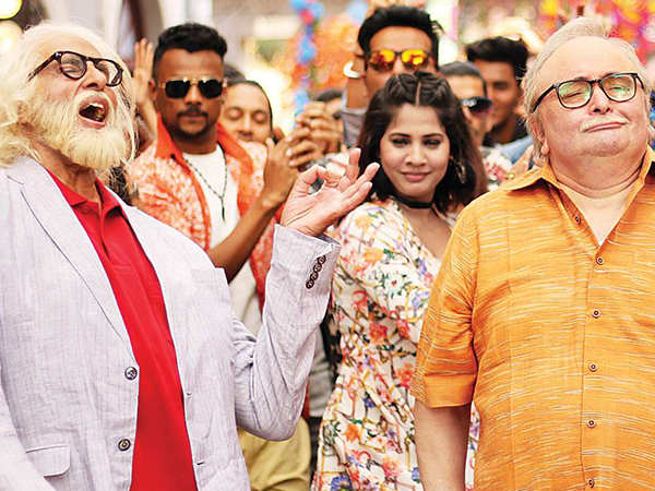 Amitabh Bachchan is all praise for his 102 Not Out co-star Rishi Kapoor