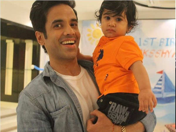 Tusshar Kapoor opens up about his son and other industry dads
