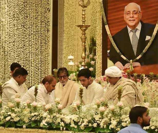 Amitabh Bachchan Prayer Meet