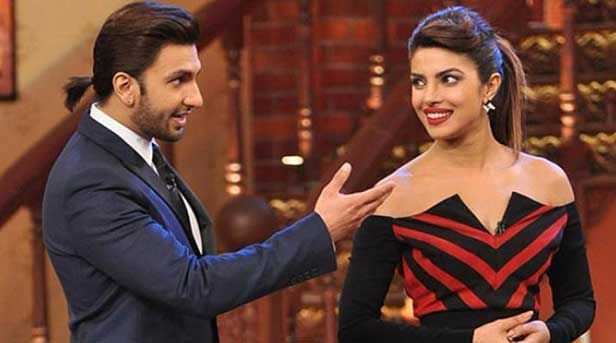 Ranveer Singh and Priyanka Chopra