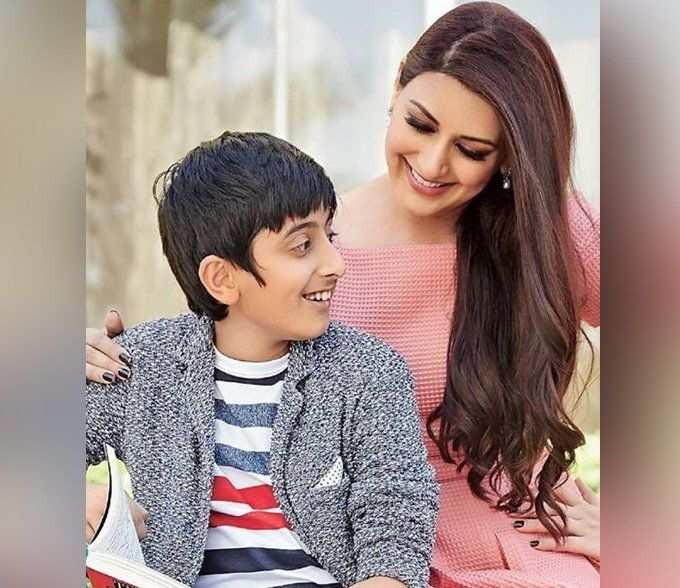 Sonali Bendre wishes son Ranveer on her birthday, says misses him terribly