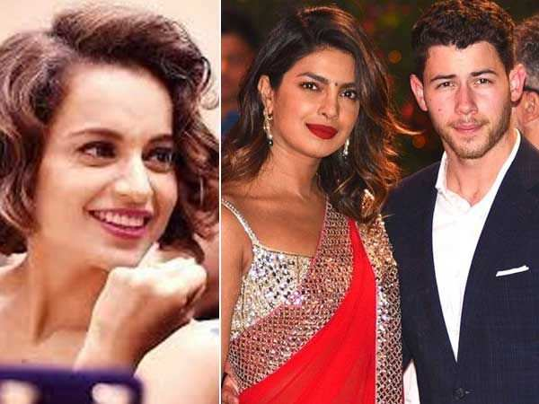 She seems very happy – Kangana Ranaut on Priyanka Chopra dating Nick Jonas