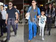 Ajay Devgn and Kajol return from London getaway