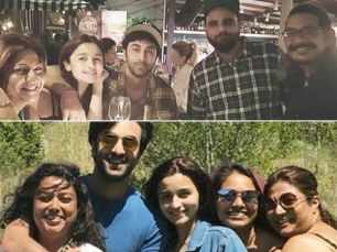 Ranbir Kapoor and Alia Bhatt look adorable in this picture