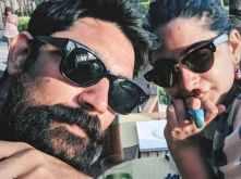 Rhea Kapoor enjoys an exotic vacation with beau Karan Boolani in Maldives