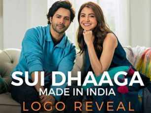 Video : Varun Dhawan and Anushka Sharma reveal the logo of Sui Dhaaga