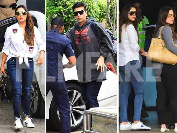Karan Johar, Gauri Khan, Maheep Kapoor, Neelam Kothari