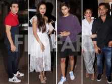 Malaika Arora and Arbaaz Khan spotted with their family in the city