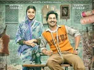Here's the first poster of Varun Dhawan and Anushka Sharma's Sui Dhaaga