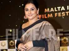 Vidya Balan looks stunning at the launch of Malta India film festival