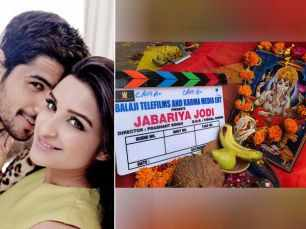 Parineeti Chopra and Sidharth Malhotra start shooting for Jabariya Jodi