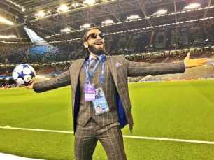 Ranveer Singh says starring in a football biopic would be challenging