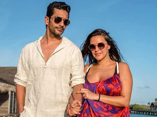 Exclusive pictures: Neha Dhupia and Angad Bedi's honeymoon looks dreamy