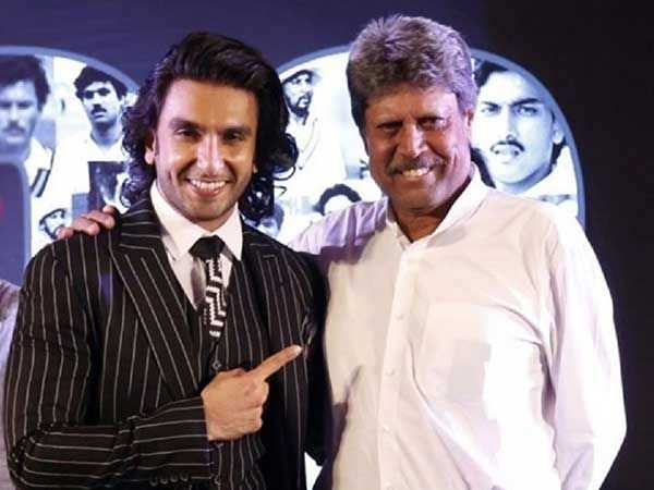 Kapil Dev will train Ranveer Singh for 83
