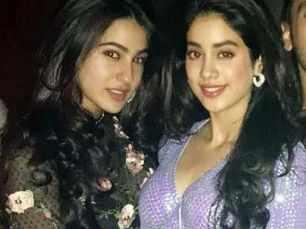 Sara Ali Khan and Janhvi Kapoor - the new Bollywood BFFs