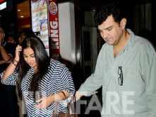 Pictures: Vidya Balan enjoys a dinner date with husband Siddharth Roy Kapur