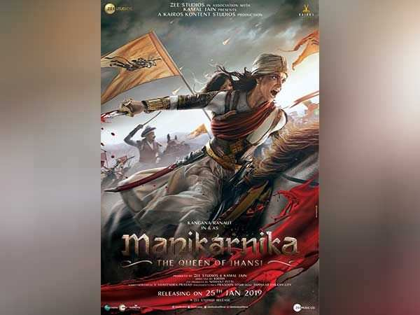 Kangana Ranaut looks fierce in the first poster of Manikarnika