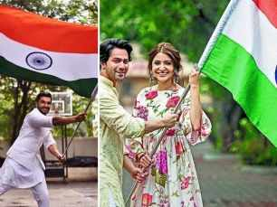 Bollywood stars celebrate India's 72nd Independence Day