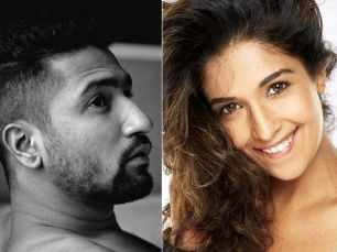 Is Vicky Kaushal dating television host and actress Harleen Sethi?