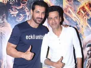 John Abraham and Manoj Bajyapee promote Satyameva Jayate in a special way