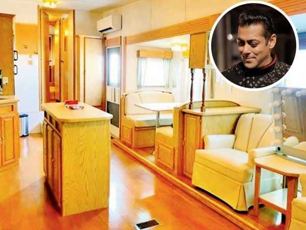 Check out Salman Khan's swanky new vanity van straight from Malta