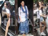 Janhvi Kapoor, Sara Ali Khan and Ananya Panday bond over lunch