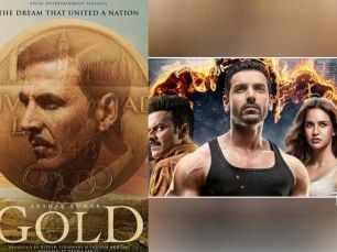Gold and Satyameva Jayate move head to head at the box-office