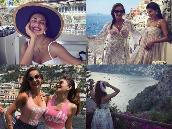 8 pictures of Jacqueline Fernandez's Italian getaway that'll blow you away