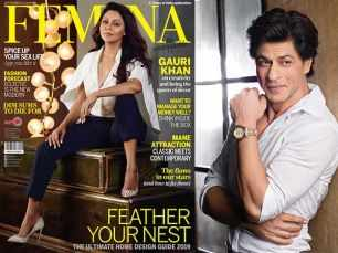 Shah Rukh Khan addresses wife Gauri as 'Cover Mother'