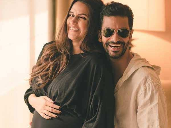 Angad Bedi confirms Neha Dhupia's pregnancy with these latest pictures