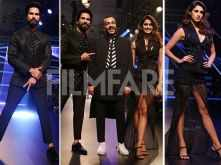 Shahid Kapoor and Disha Patani go all black at the Lake Fashion Week 2018
