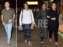 Salman Khan's family returns from Malta after shooting for Bharat