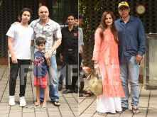 Photos! Khan Khandaan comes together to celebrate Raksha Bandhan