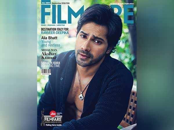 Varun Dhawan looks smashing on the latest cover of Filmfare