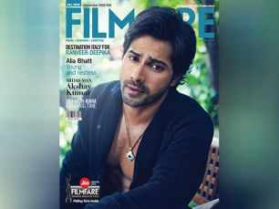 Varun Dhawan looks smashing on the latest cover of Filmfare